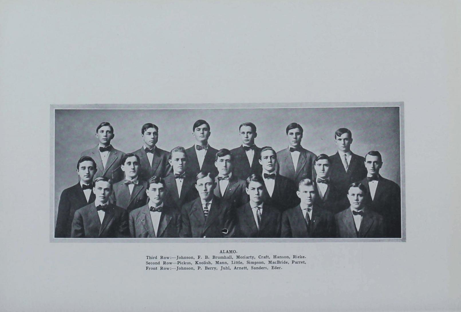 1910 Alamo Club