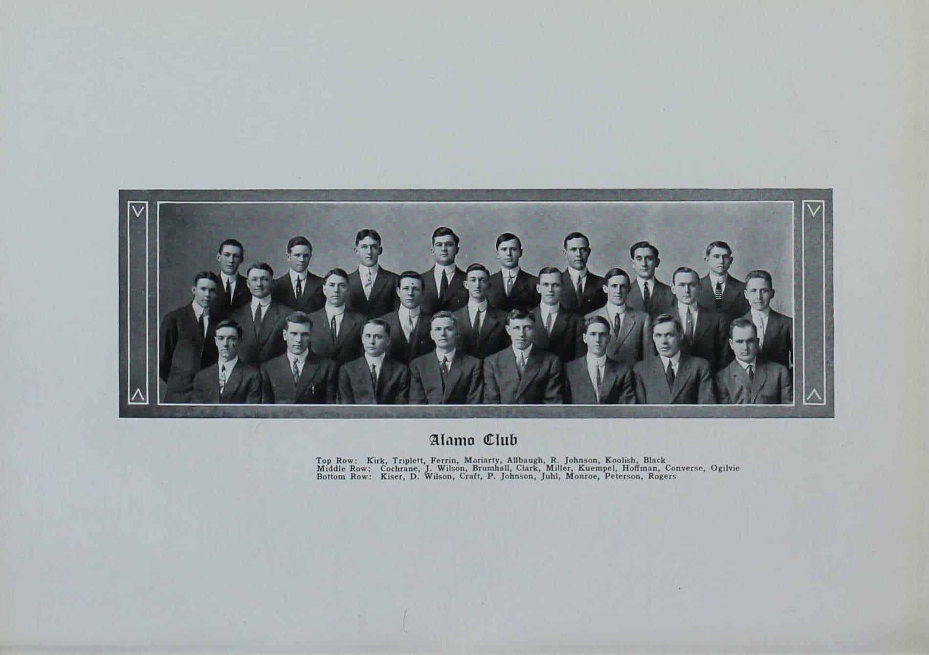 1912 Alamo Club