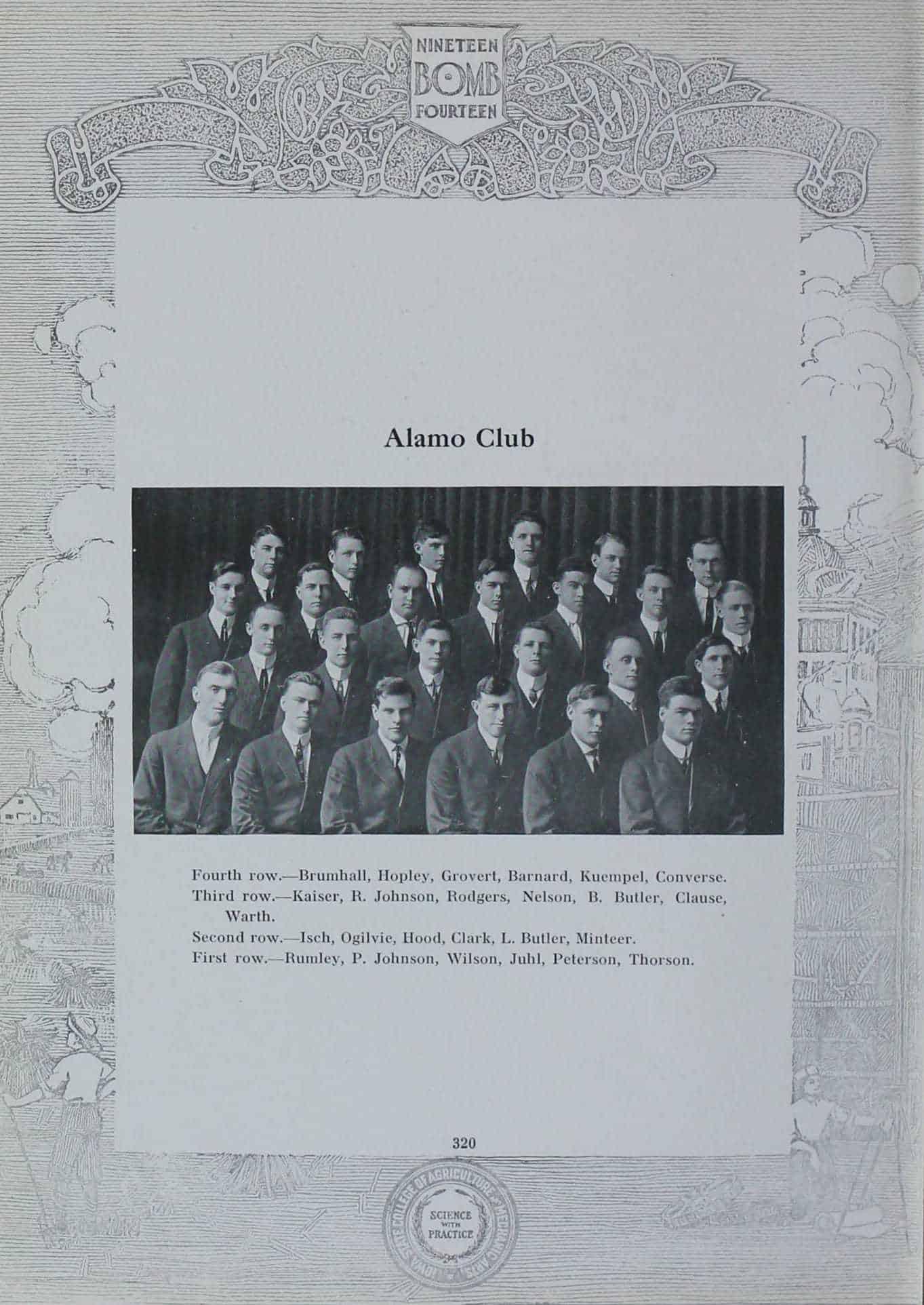 1913 Alamo Club