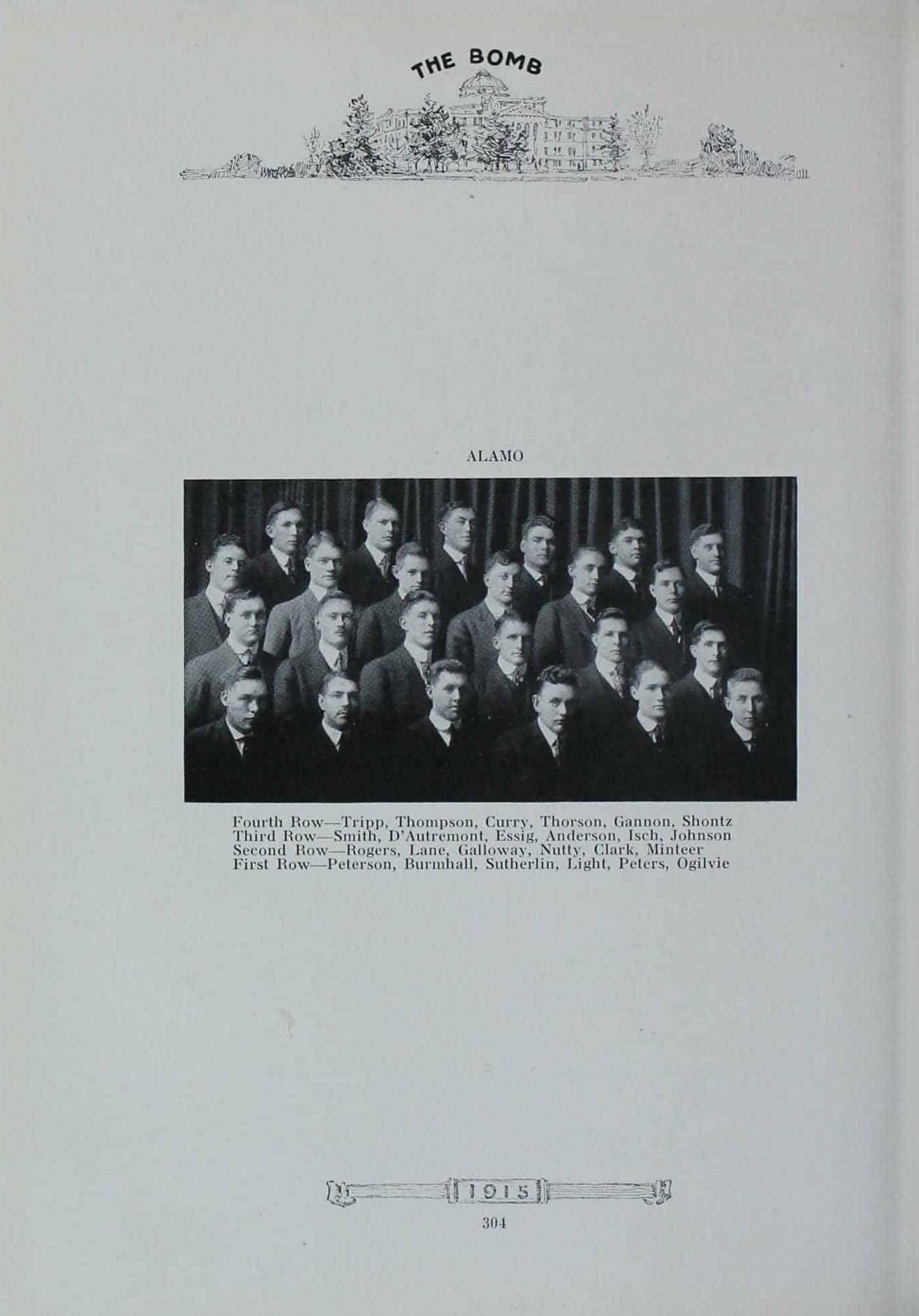 1914 Alamo Club