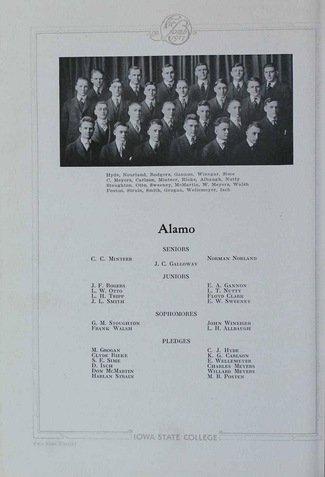 1916 Alamo Club