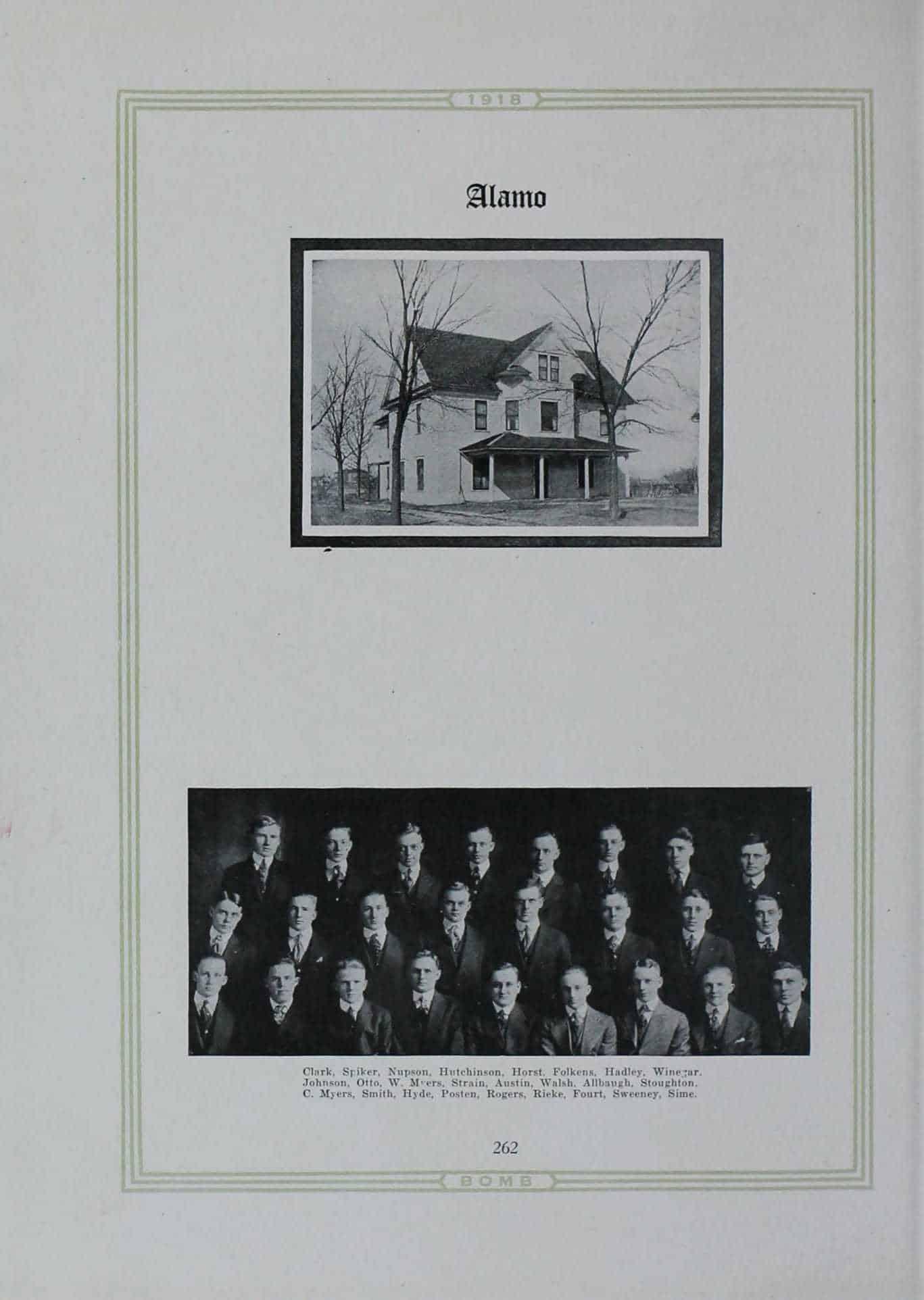 1917 Alamo Club