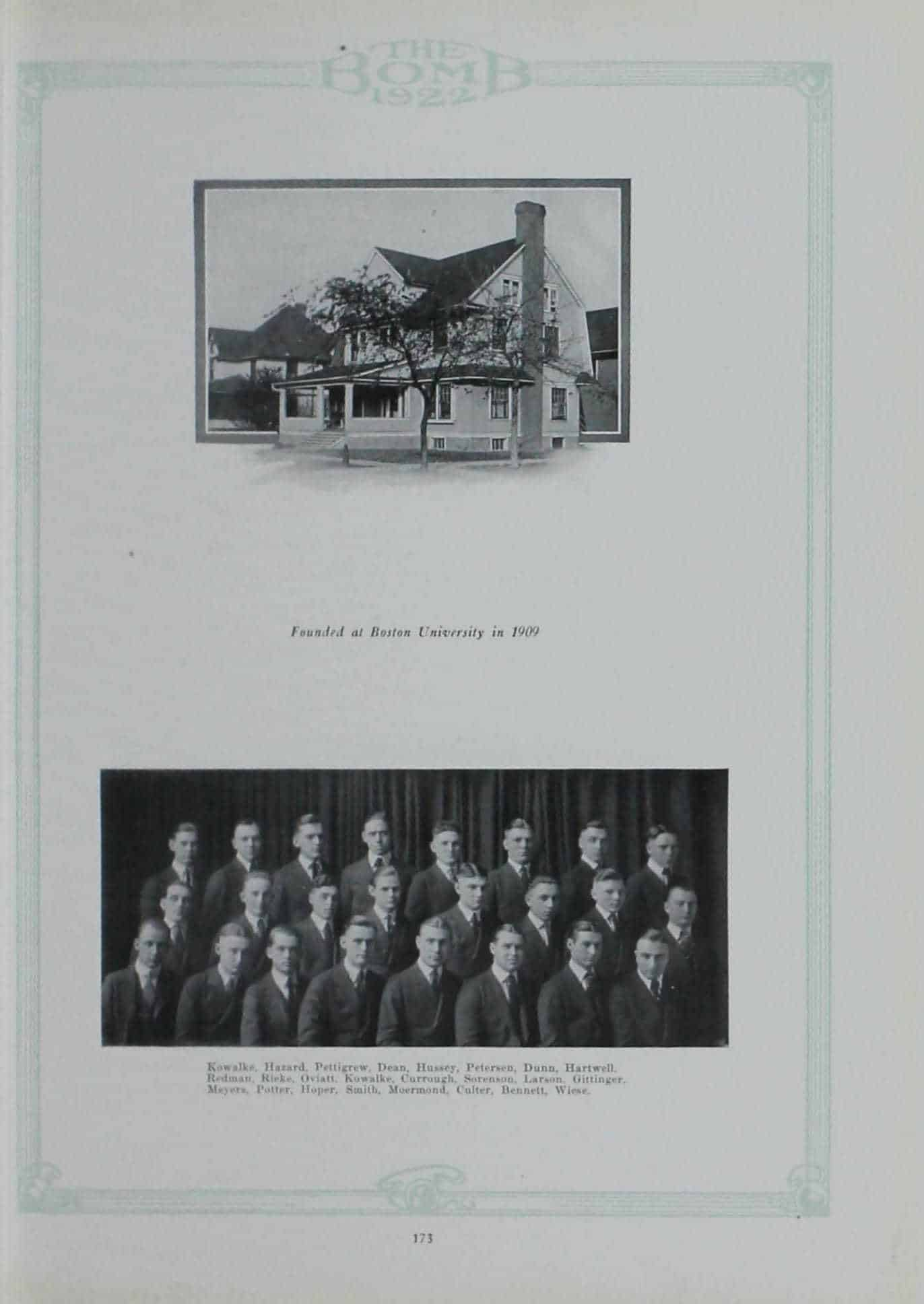 1921 Lambda Chi Alpha
