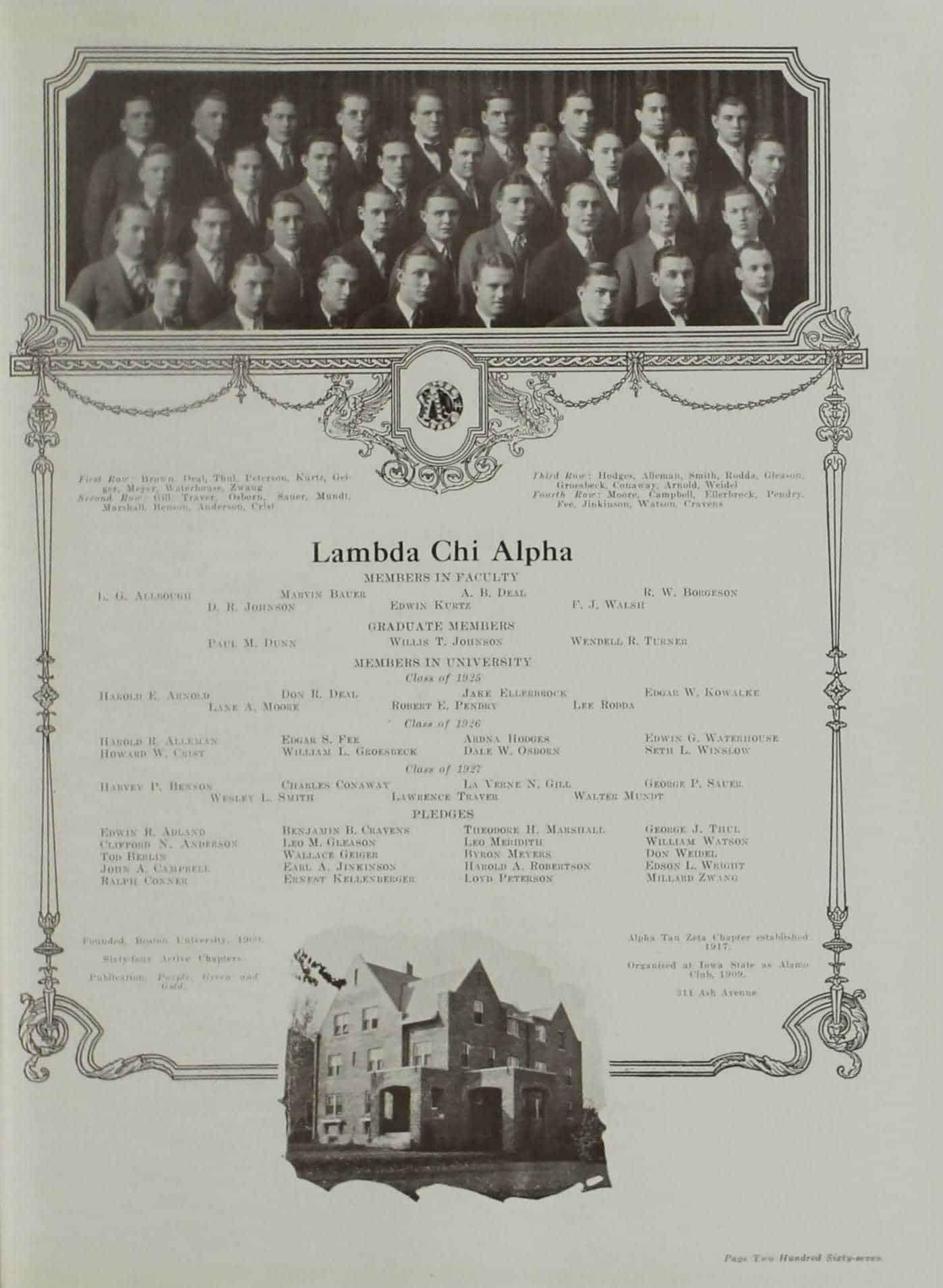 1925 Lambda Chi Alpha