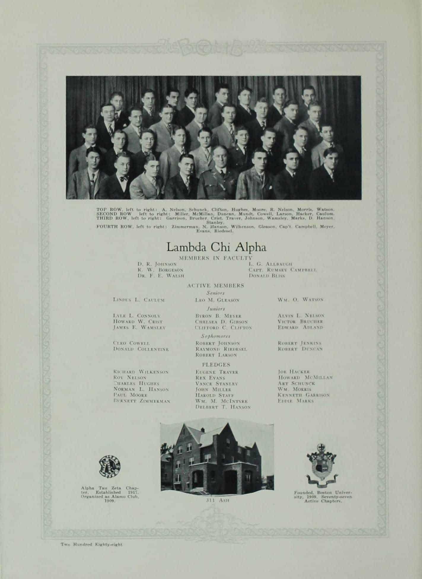 1928 Lambda Chi Alpha