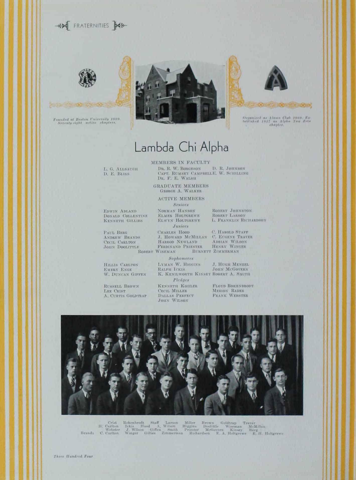 1930 Lambda Chi Alpha