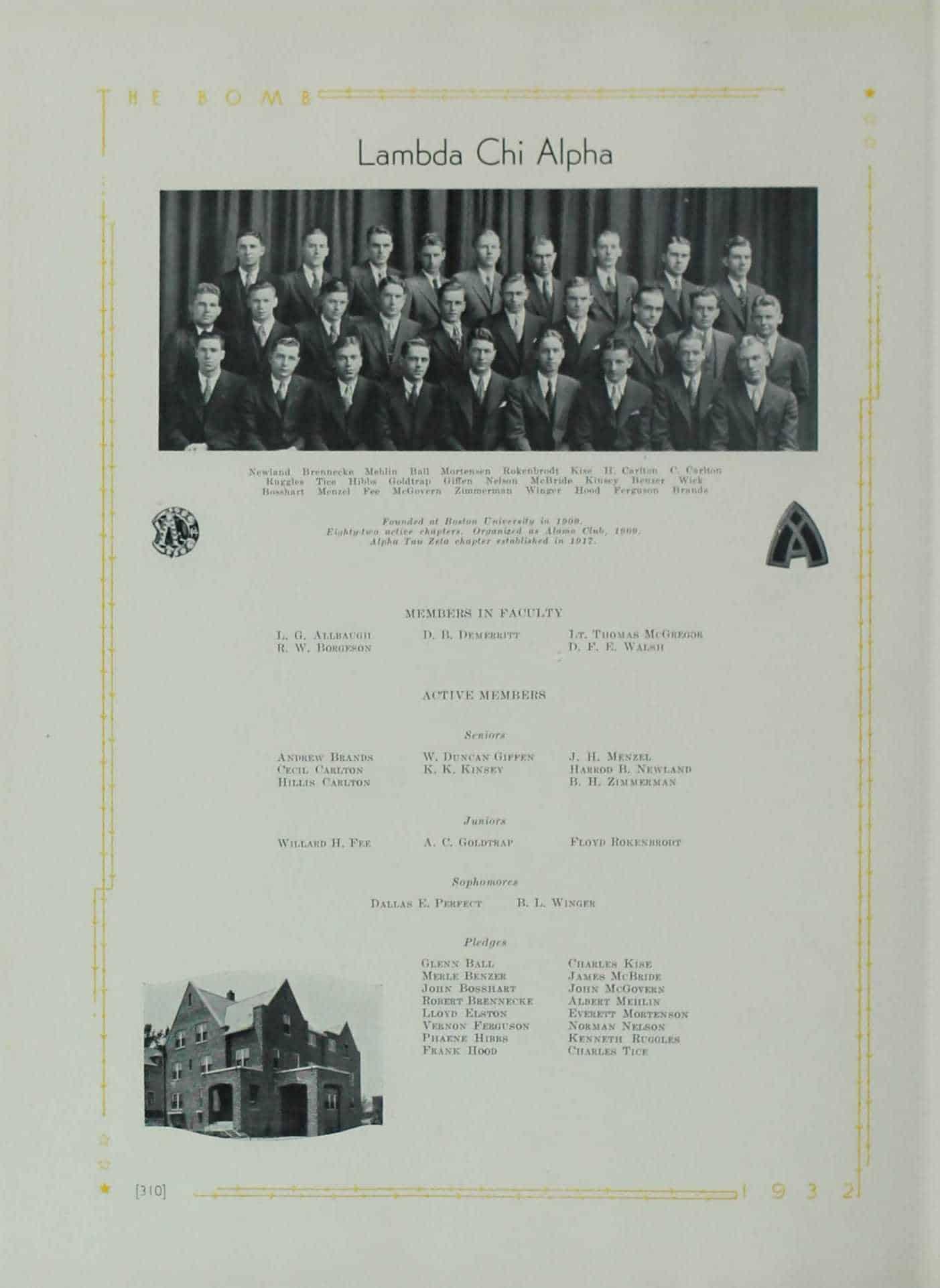 1932 Lambda Chi Alpha