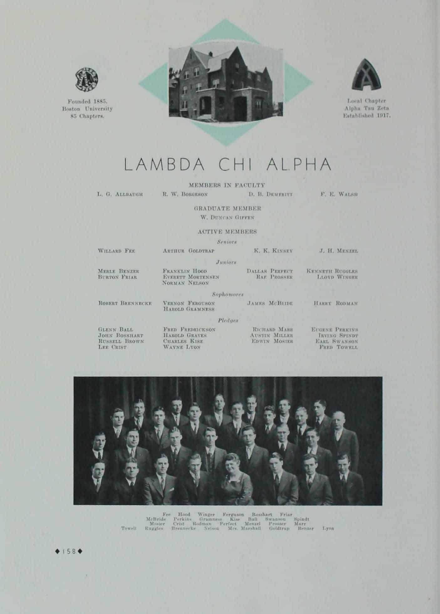 1933 Lambda Chi Alpha