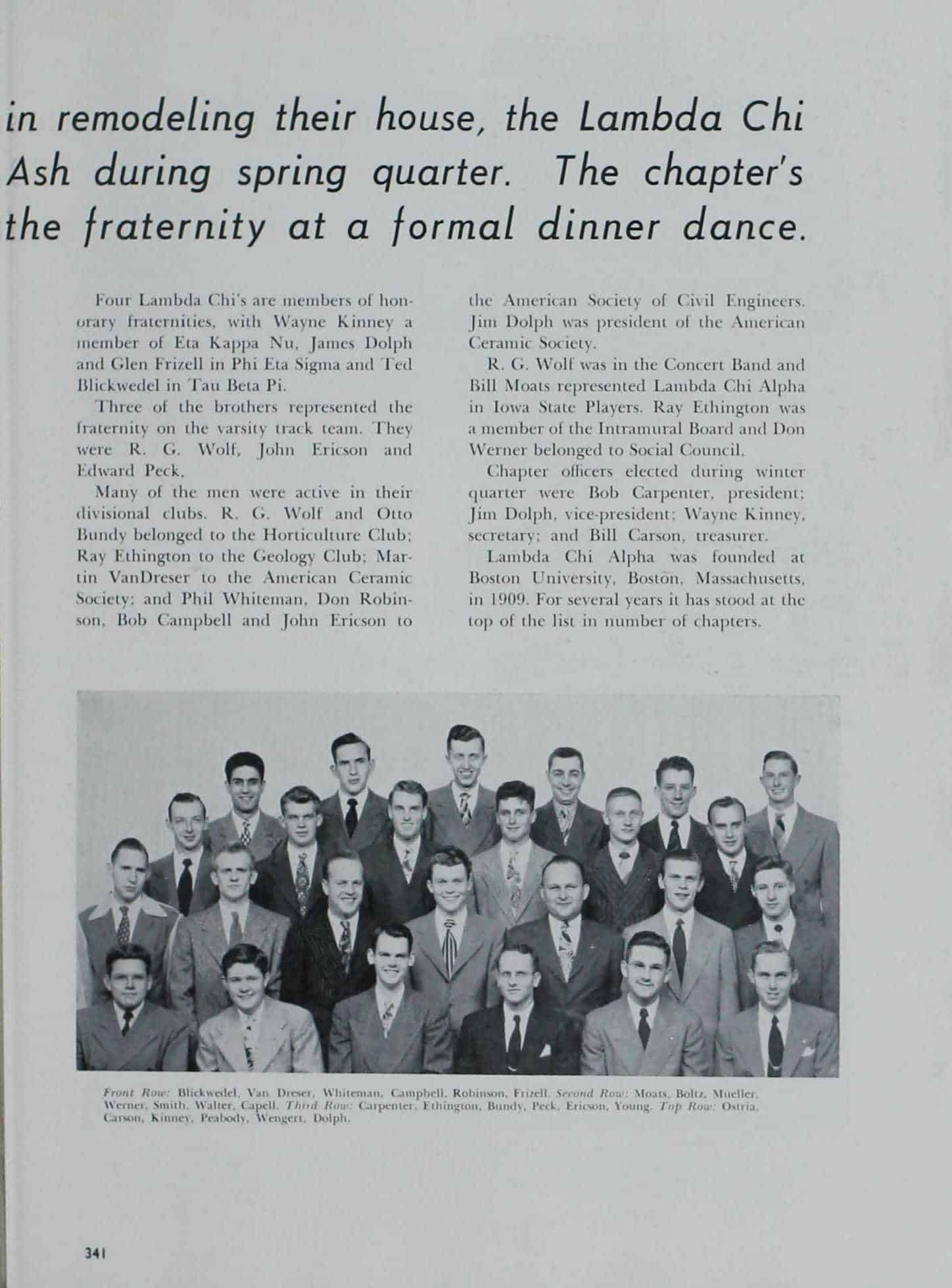 1949 Iowa State Yearbook p.2