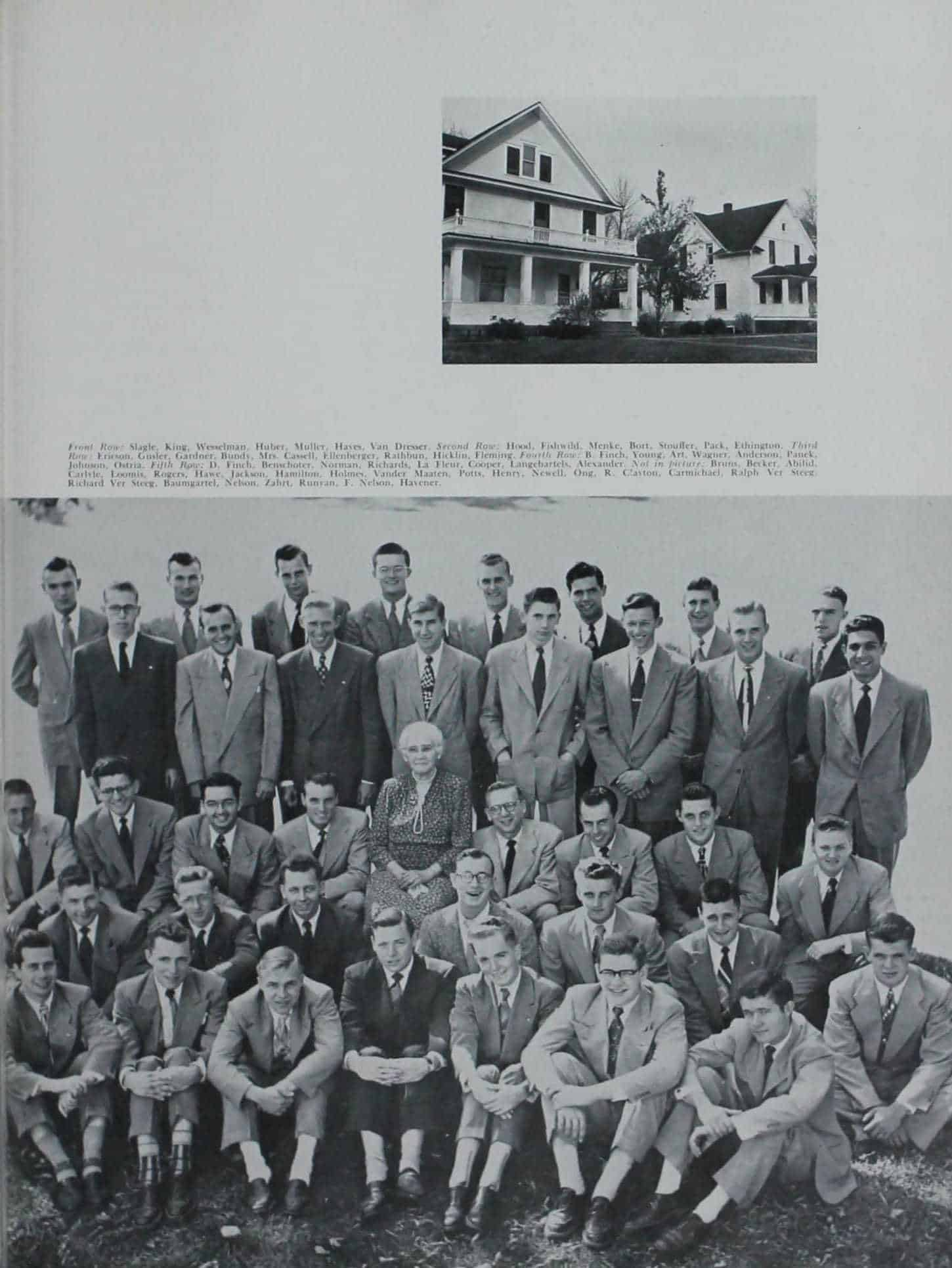 1951 Iowa State Yearbook p.2