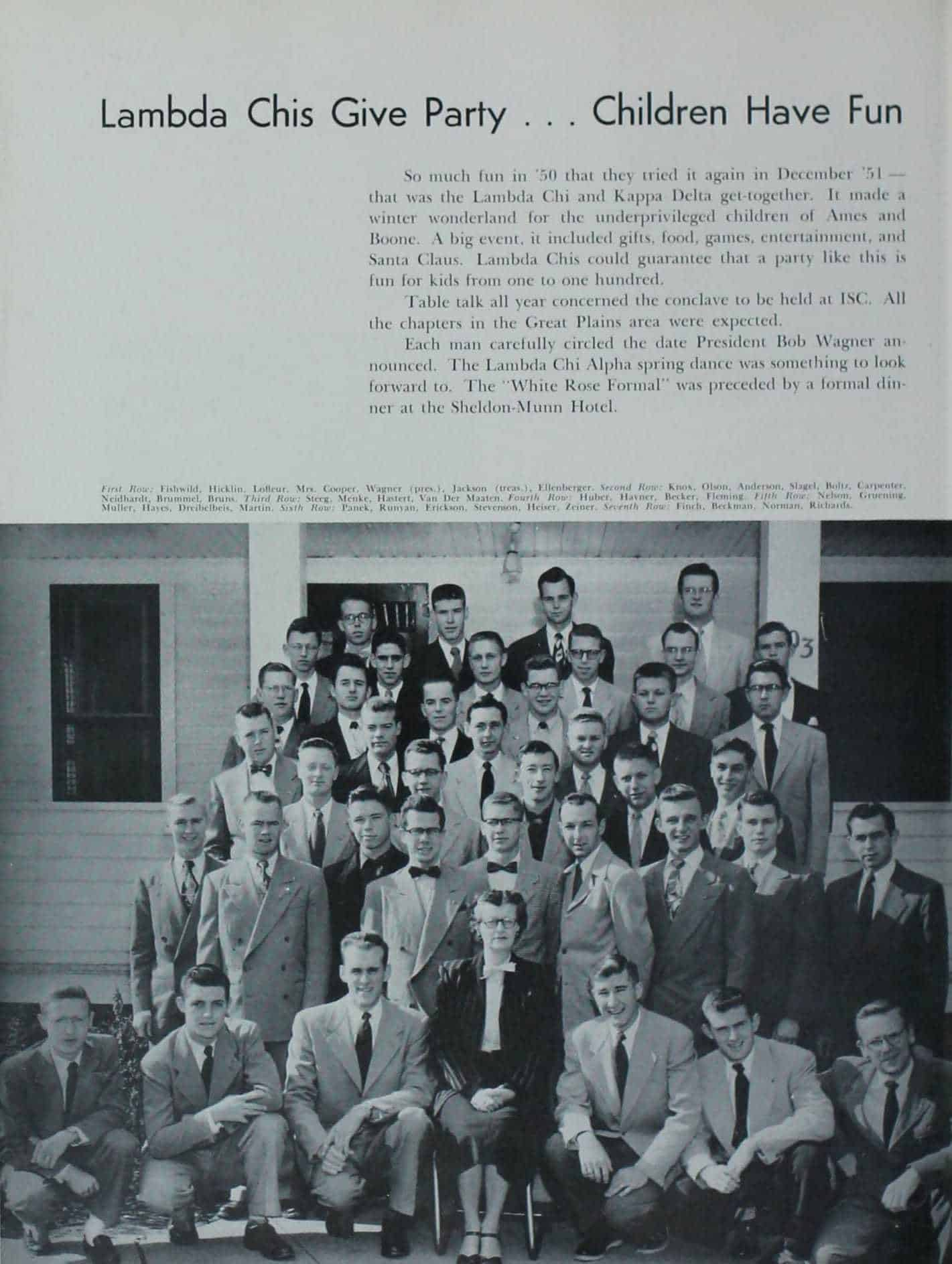 1952 Iowa State Yearbook p.1