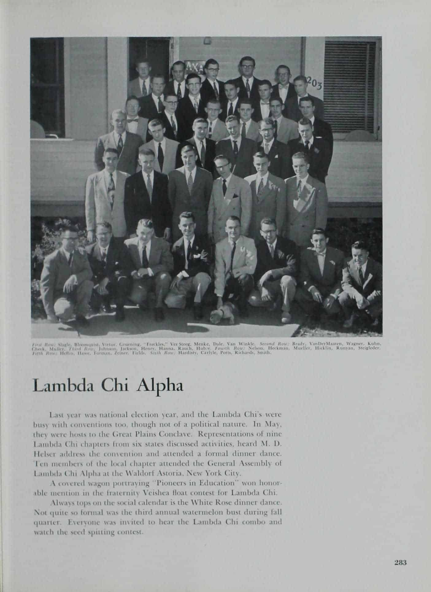 1953 Iowa State Yearbook p.1