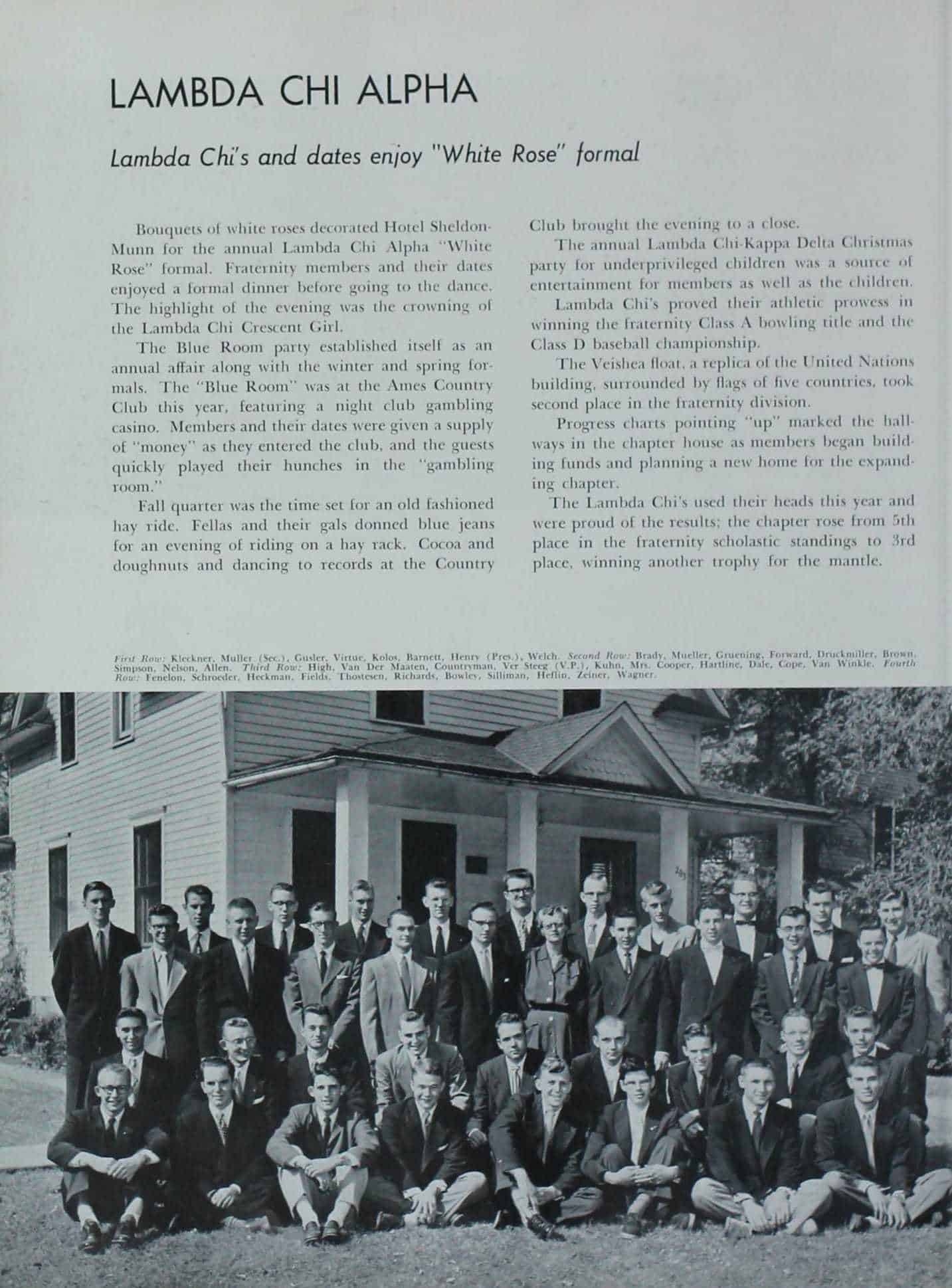 1954 Iowa State Yearbook p.1