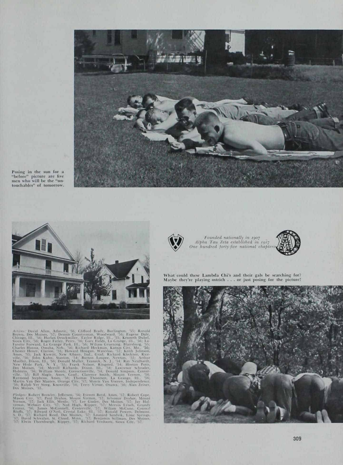 1954 Iowa State Yearbook p.2