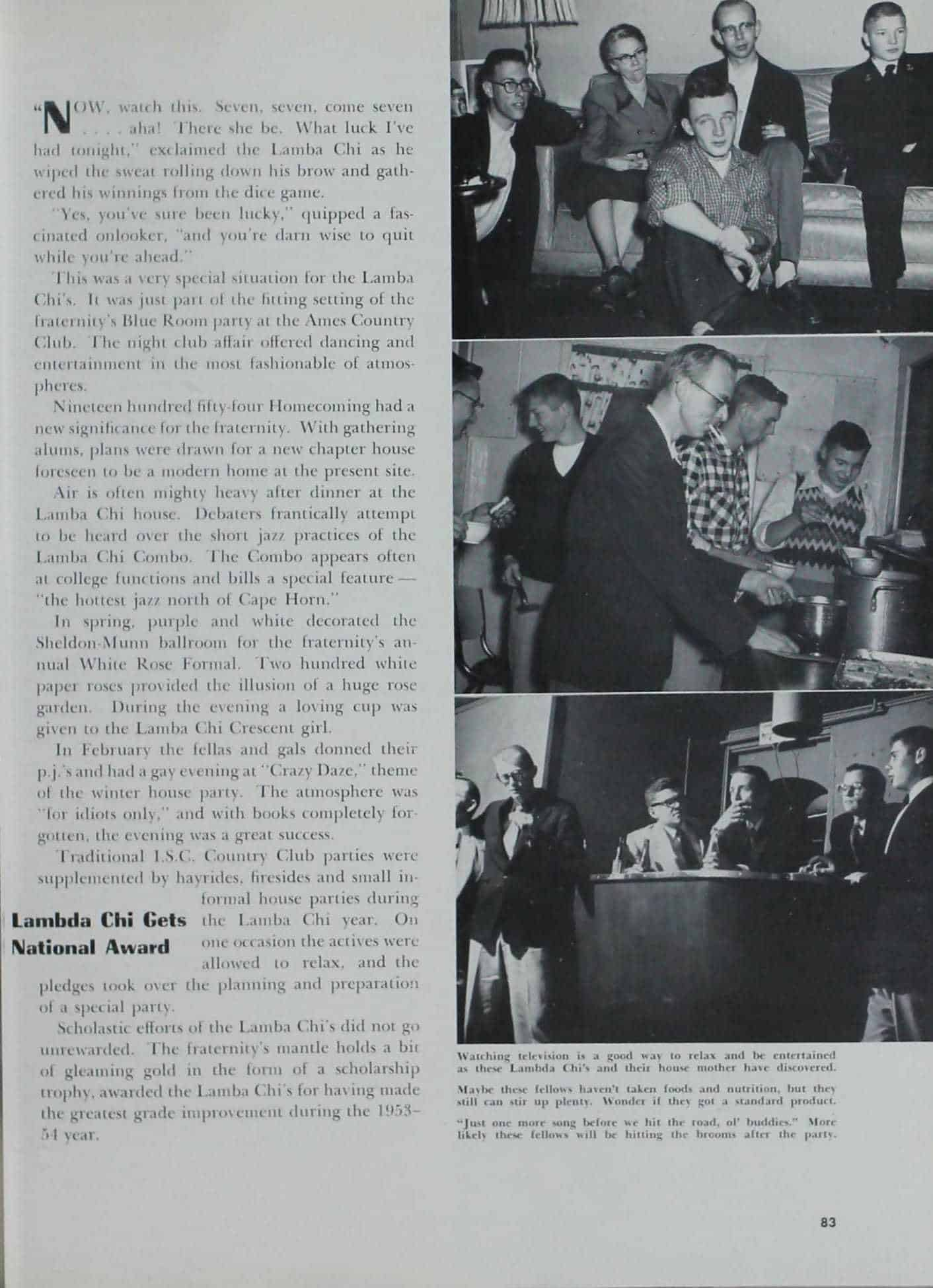1955 Iowa State Yearbook p.2