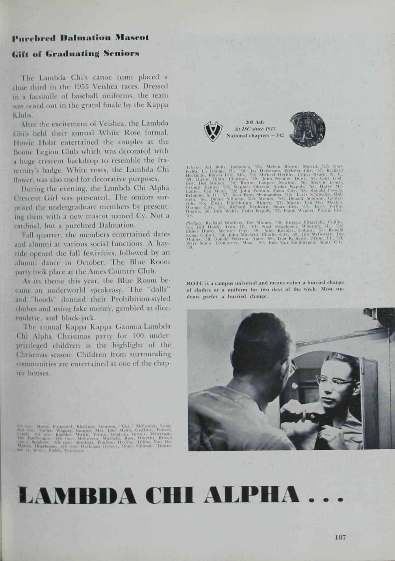 1956 Iowa State Yearbook p.1