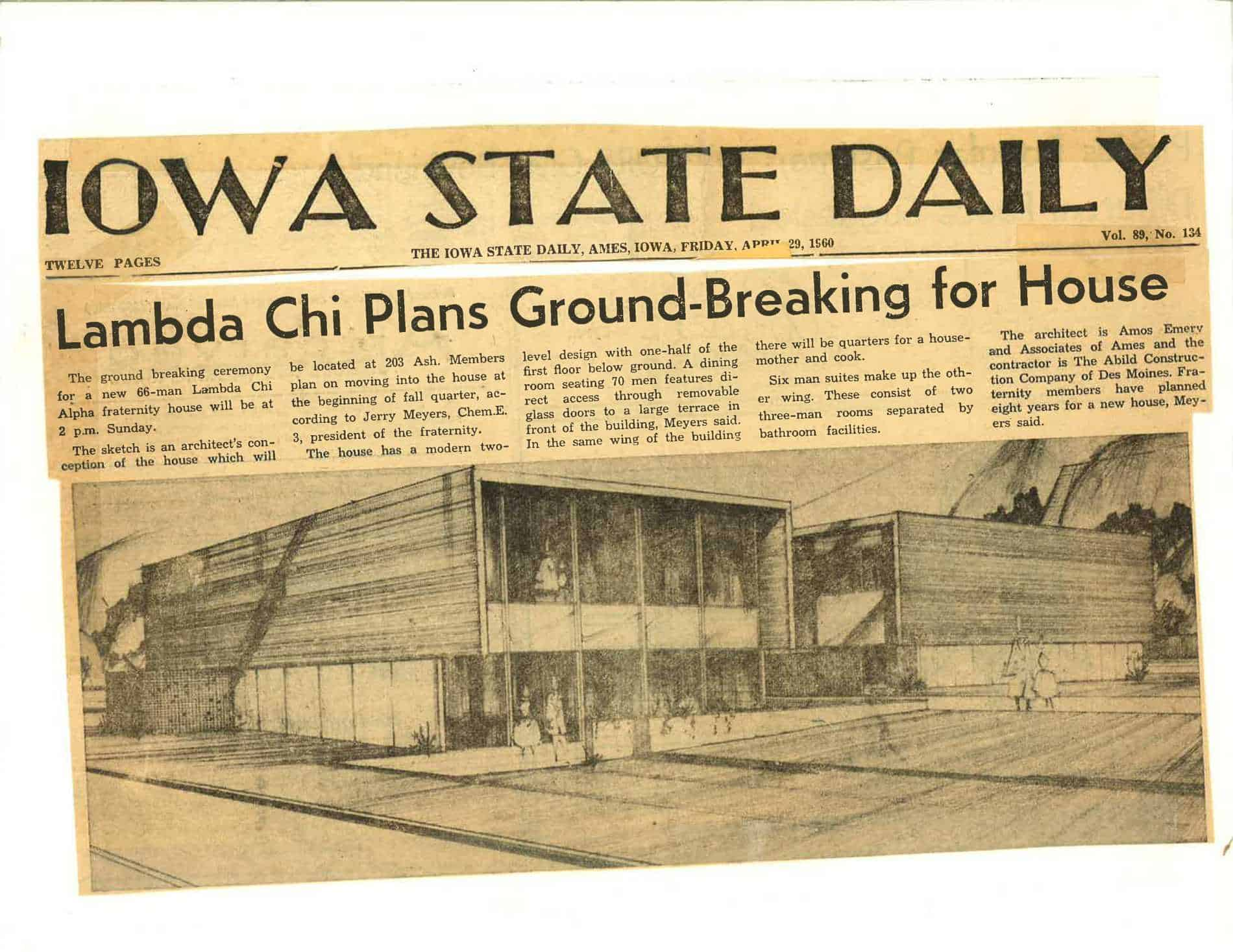 1960 April, 29 Iowa State Daily