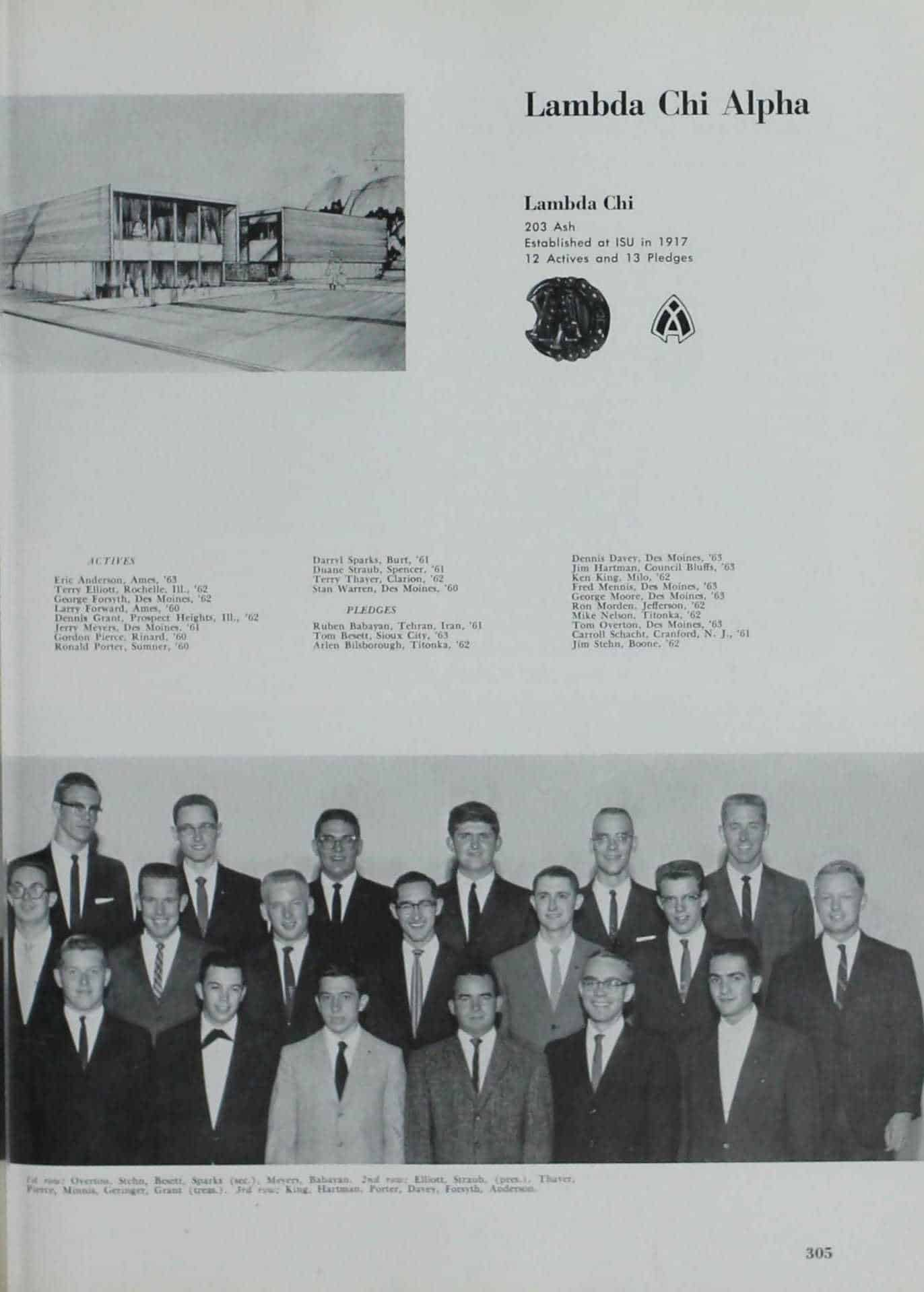 1960 Iowa State Yearbook p.1