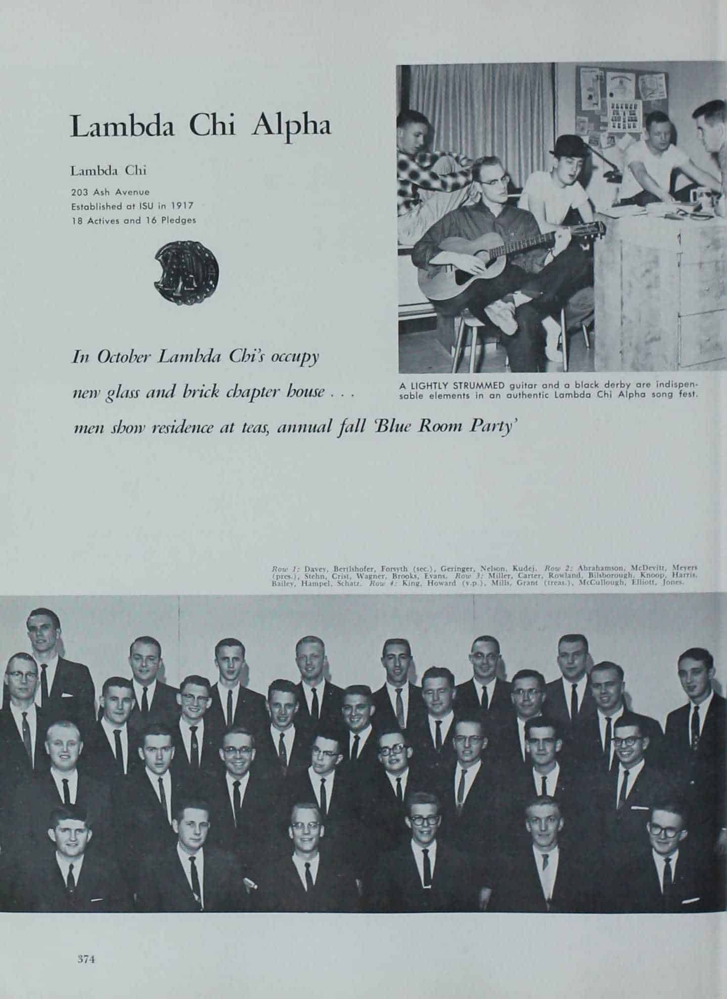 1961 Iowa State Yearbook p.1