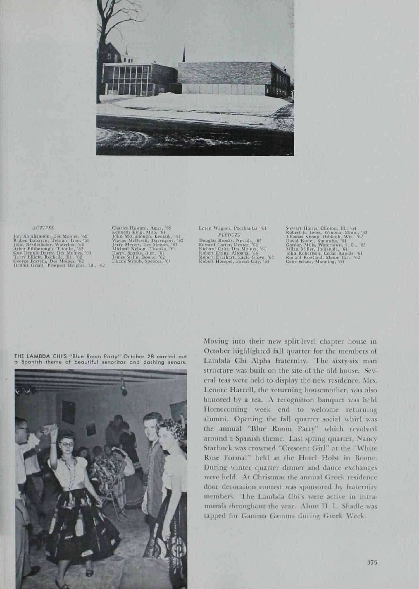 1961 Iowa State Yearbook p.2