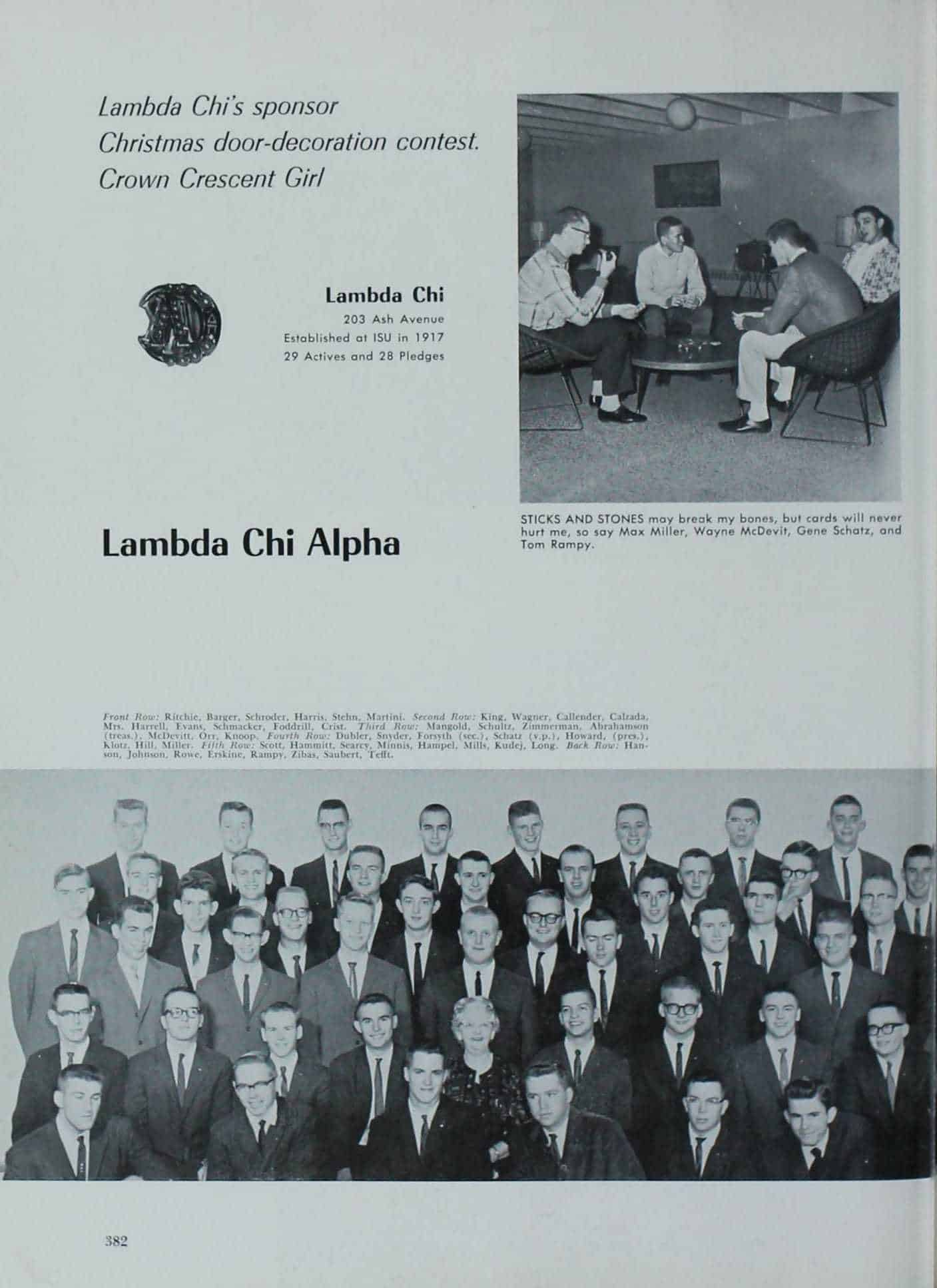 1962 Iowa State Yearbook p.1