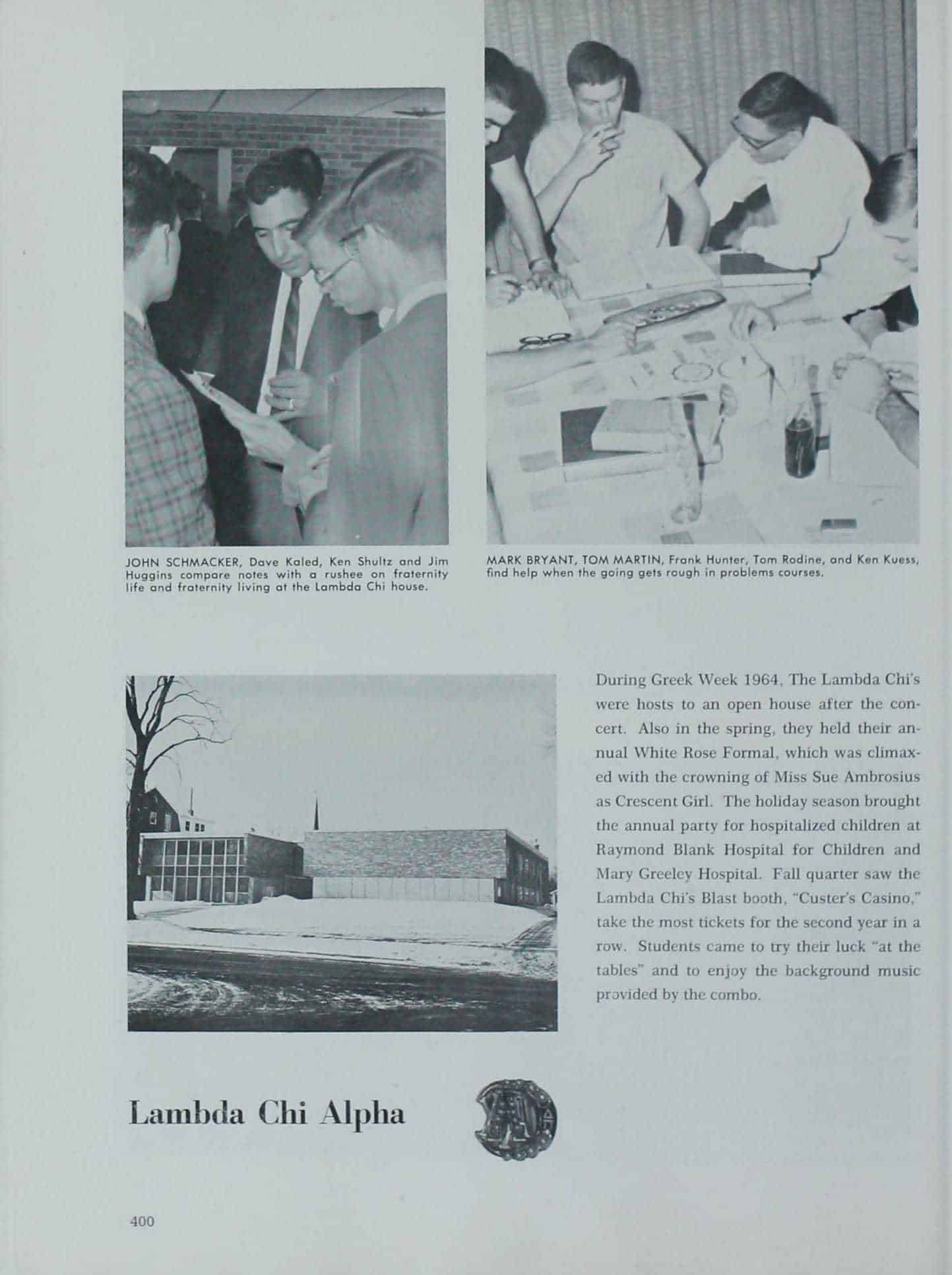 1965 Iowa State Yearbook p.1