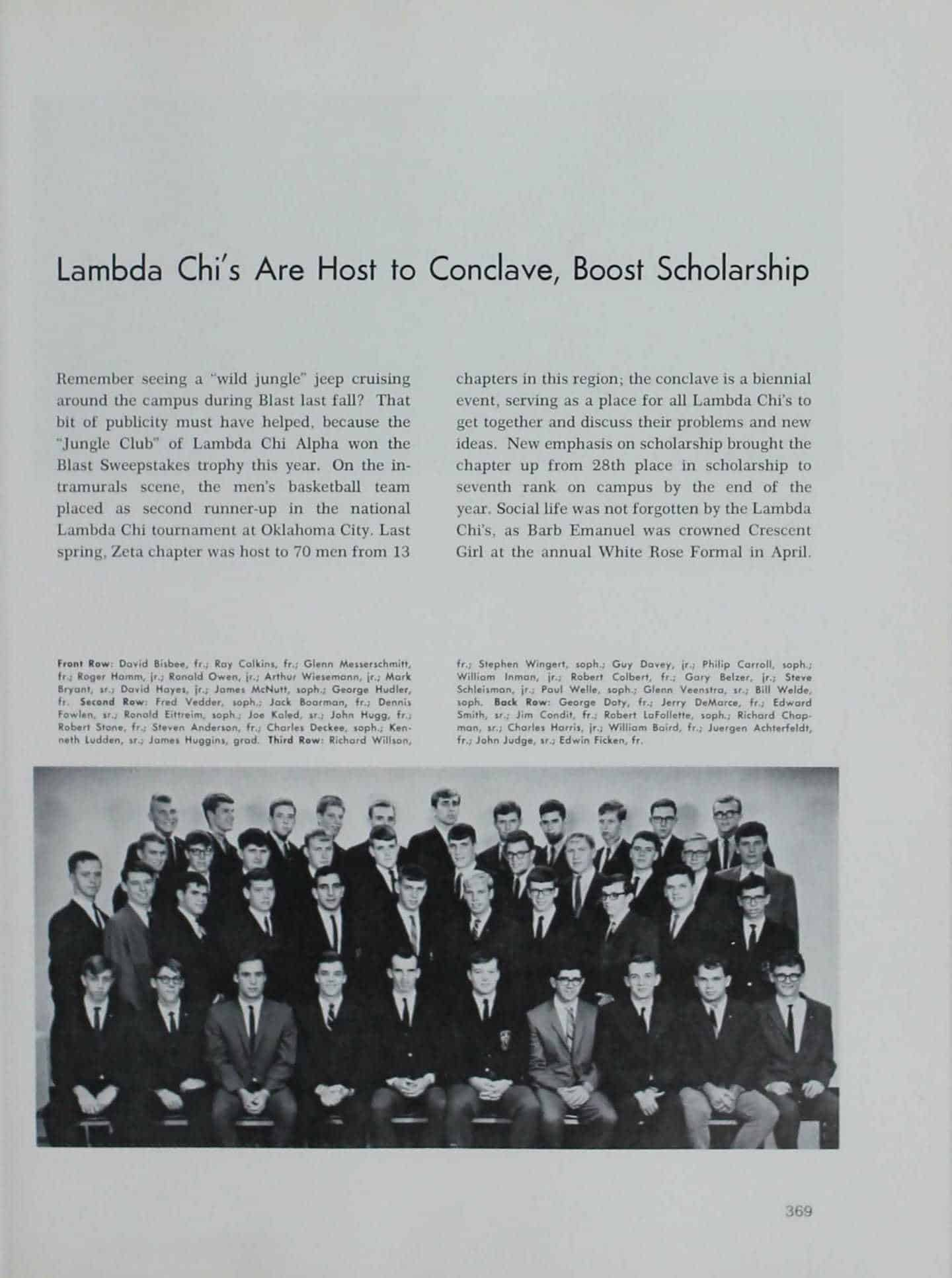 1966 Iowa State Yearbook p.2