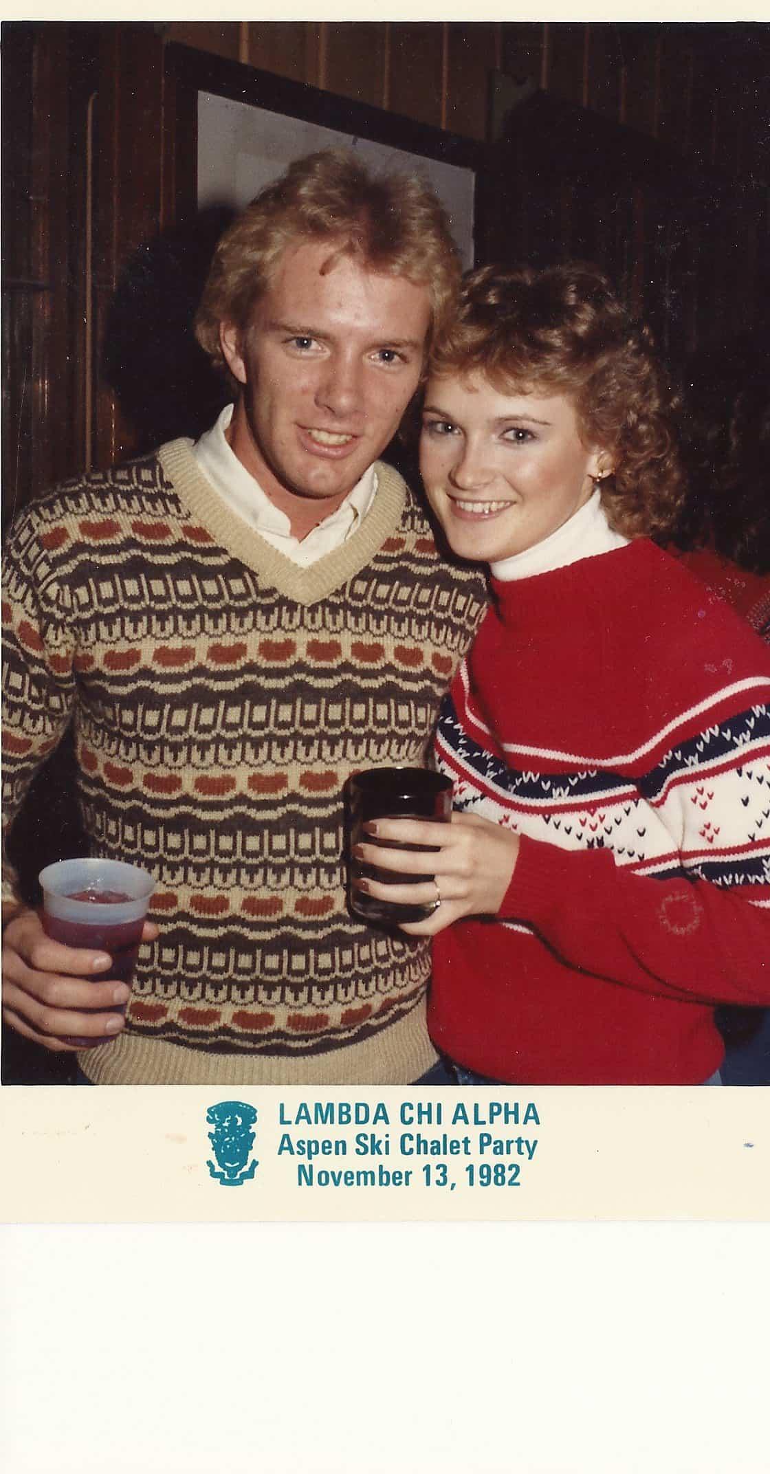 1982 Aspen Ski Party (Miller)