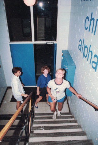 1985 Back Stairs