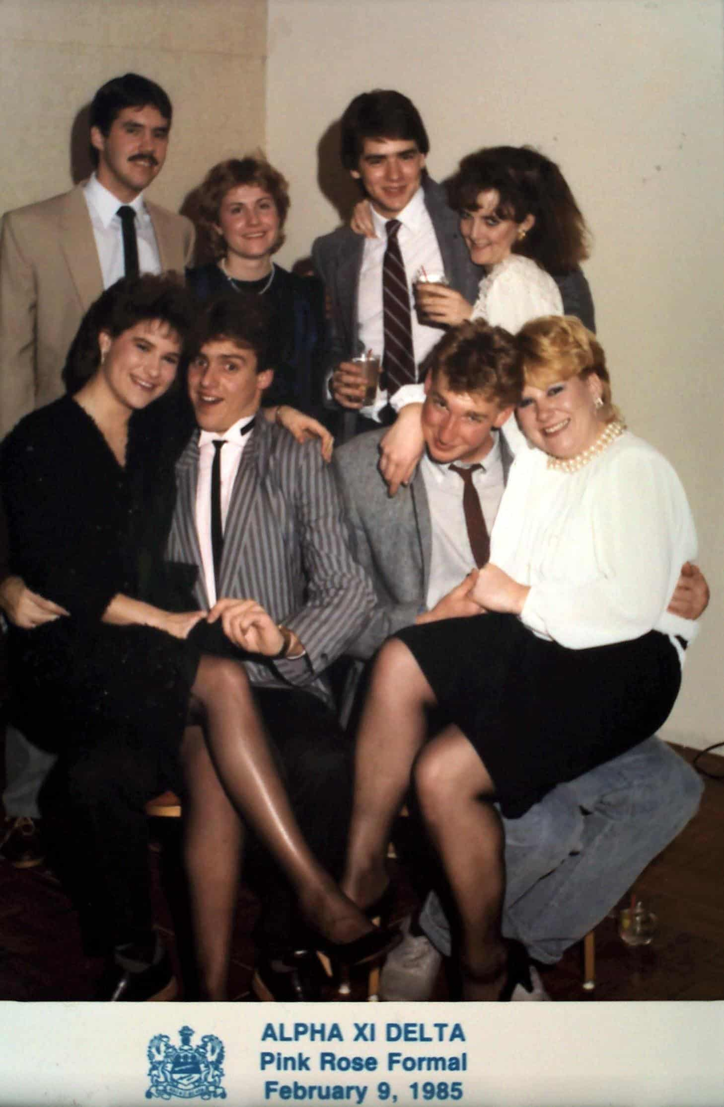 1985 White Rose Formal