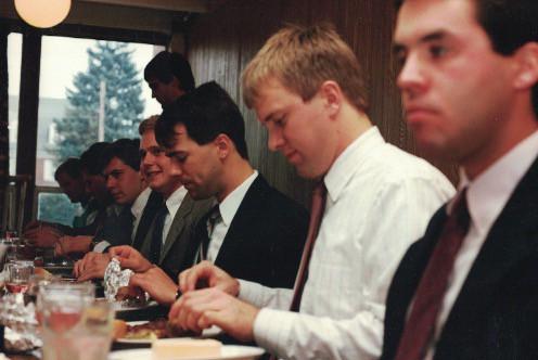 1986 Formal Dinner