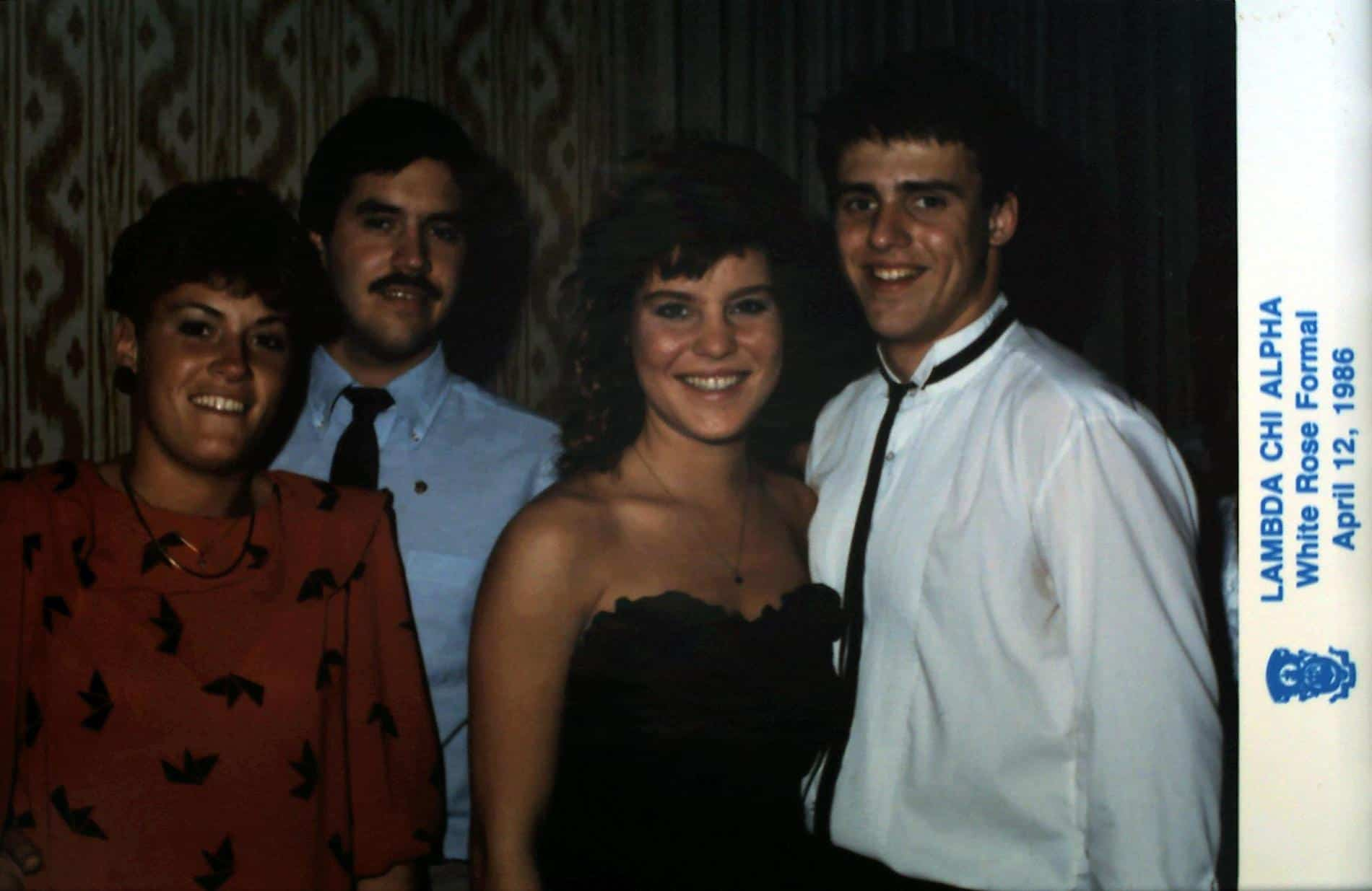 1986 White Rose Formal