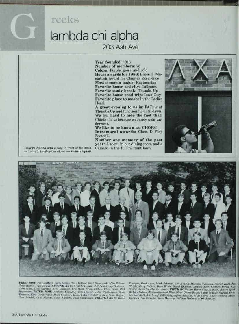 1987 Iowa State Yearbook p.2