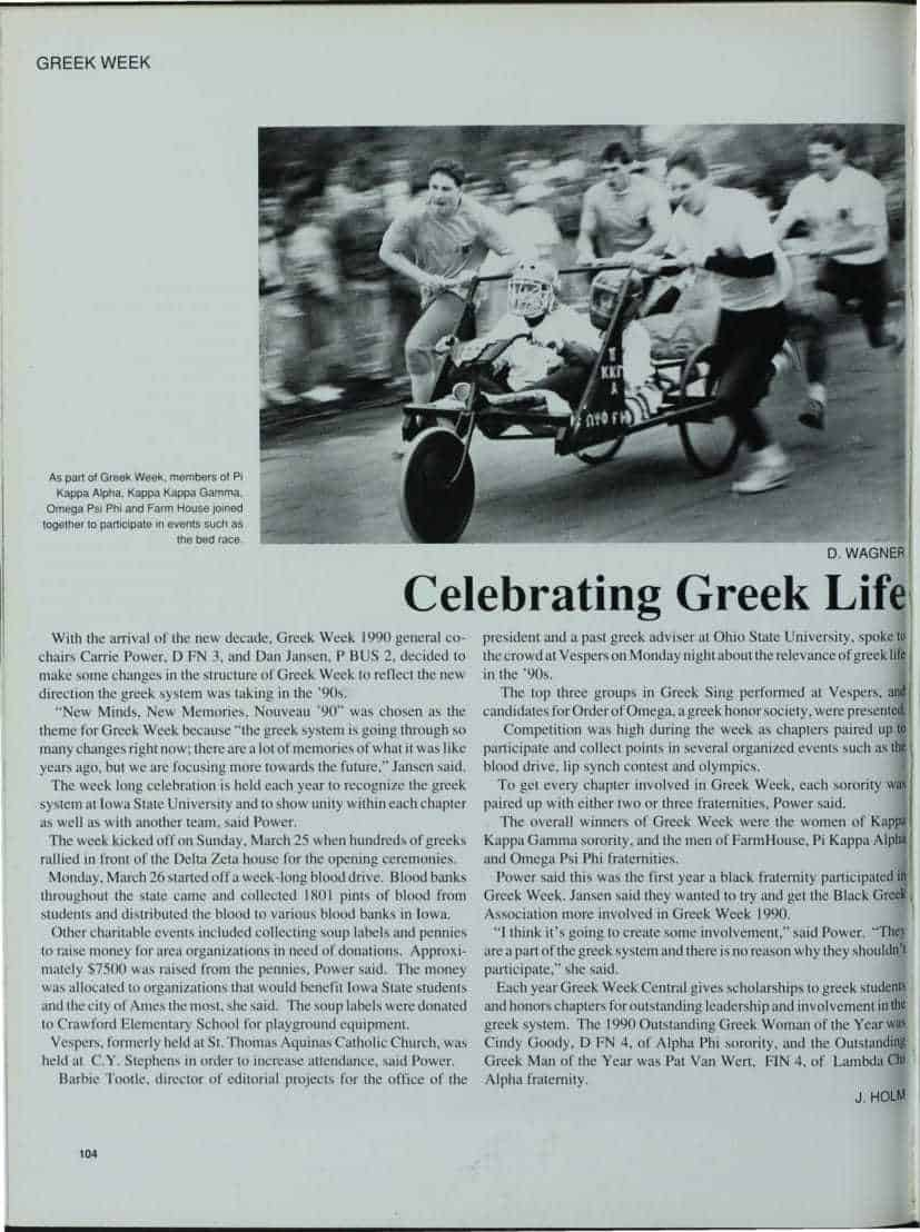 1991 Greek Man of the Year