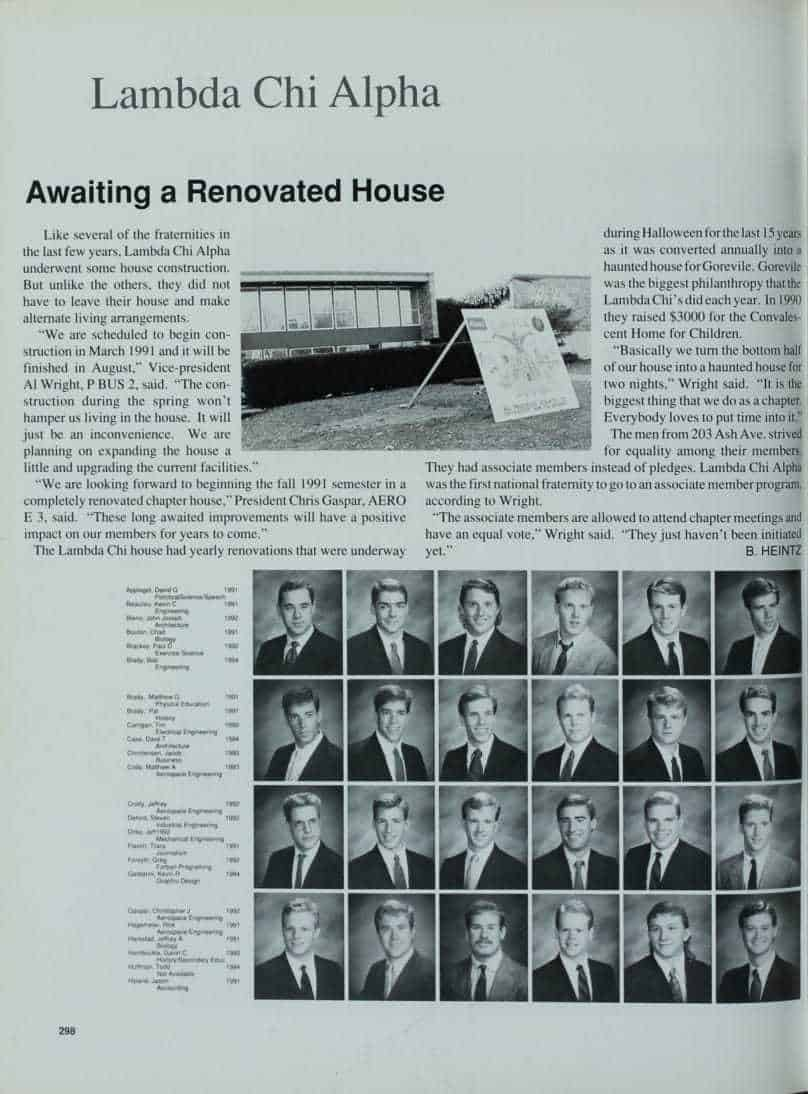 1991 Iowa State Yearbook p.1