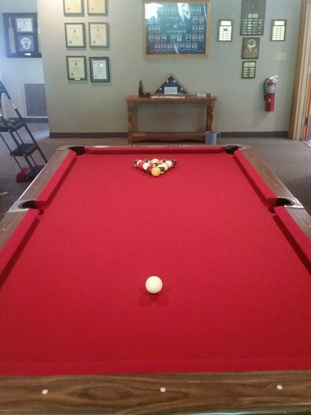 2016 Pool Table