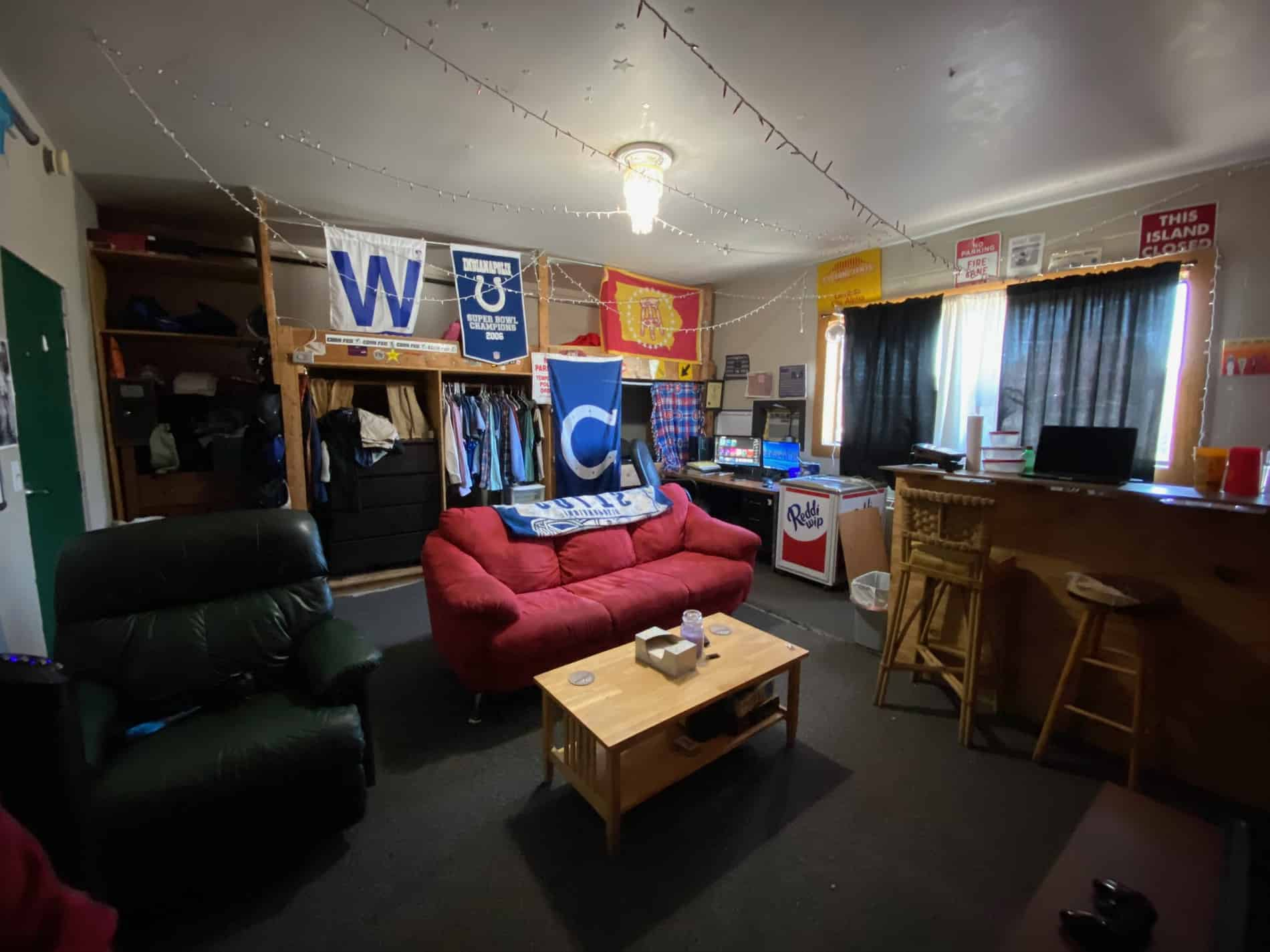 One of two Lambda Chi Alpha officer suites. Each suite is given to the president and vice president and a roommate of their choosing until their term ends.