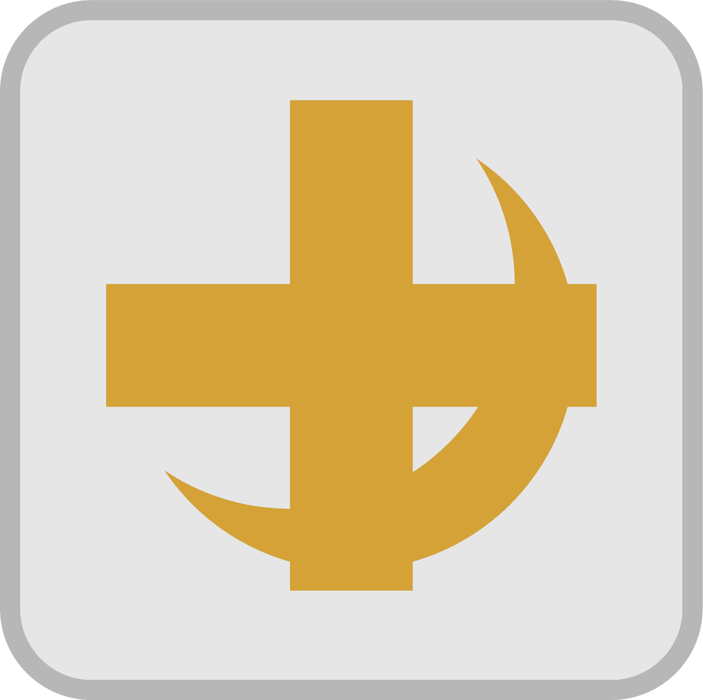 Cross and cresent